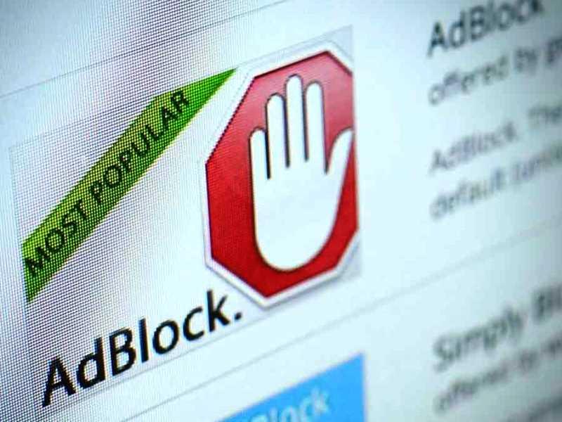 Pubblicità adblocking